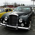Bentley Continental Mulliner Park Ward fastback coupe 1958