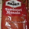 Poulet tandoori....très bonnnnnnnn
