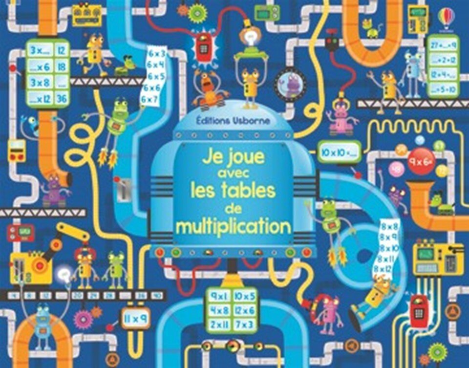 Des multiplications partout ressources pour s 39 amuser for Les table multiplication