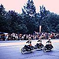 059 Défil-Inter-Alliés Berlin 13-05-1972 FR. Détachement Gendarmerie de Berlin