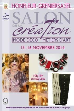 Salon de la Création de Honfleur : du 15 au 16 novembre 2014