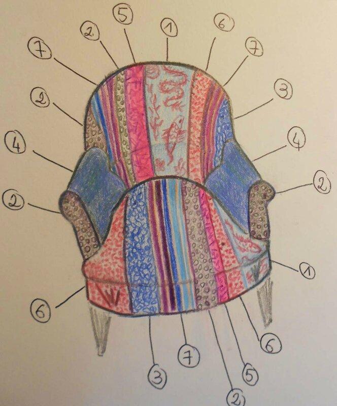 dessin fauteuil 1