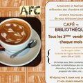 Café bibliothèque : nouveau jour, nouvel horaire !!!!