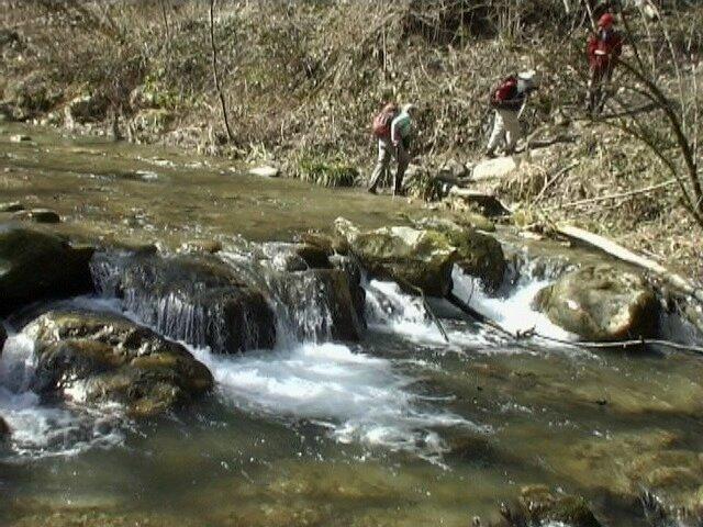 Le gué du ruisseau