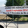 Journée des associations de mazan (.6 sept.2014 )