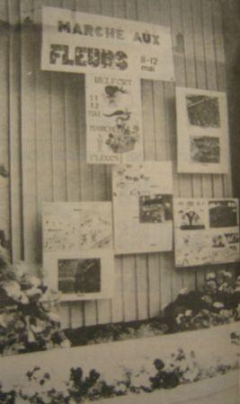 Marché aux fleurs 1984