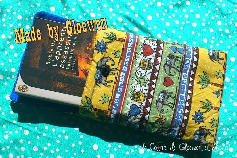 La pochette protège livre - le coffre de Gloewen et Scrat (1)