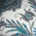 lord paisley bleu gris