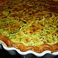 Tarte aux courgettes