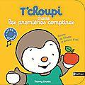 Le petit livre du mercredi #8 - thierry courtin: t'choupi chante les premières comptines