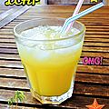 Pina colada façon distillerie peureux et massenez
