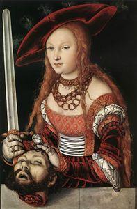 CRANACH ca 1530 Judith-KHM Vienne