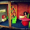 maison de poupée accessoires cuisine salon