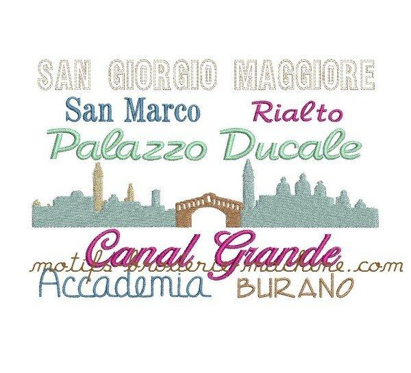 558 skyline et noms Venise 129x179