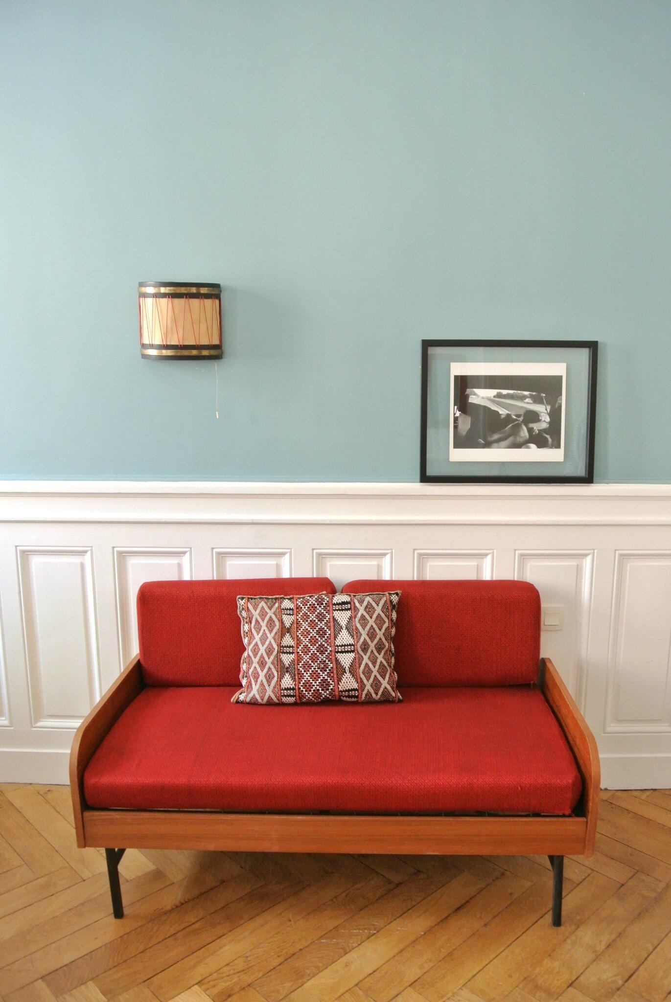 banquette modulable en daybed ann es 50 solveig. Black Bedroom Furniture Sets. Home Design Ideas