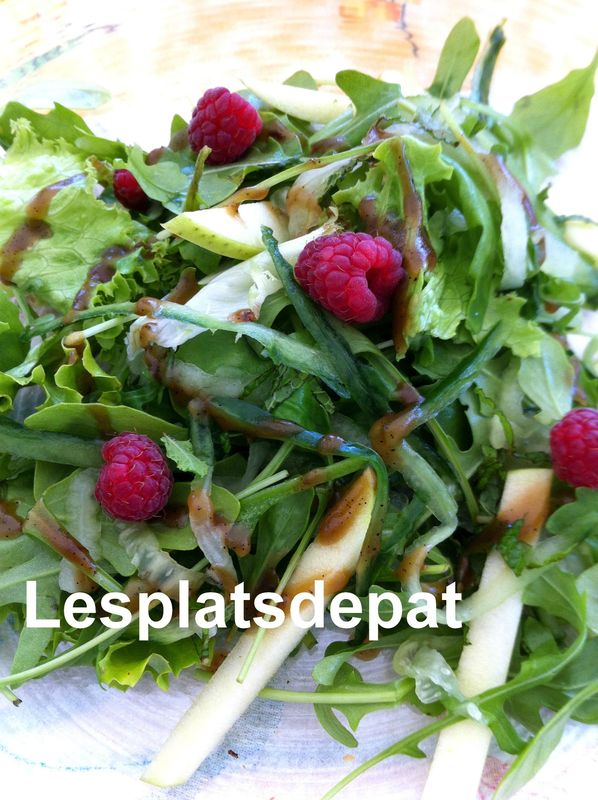 Salade simplissime pour accompagner les grillades for Salade pour accompagner poisson