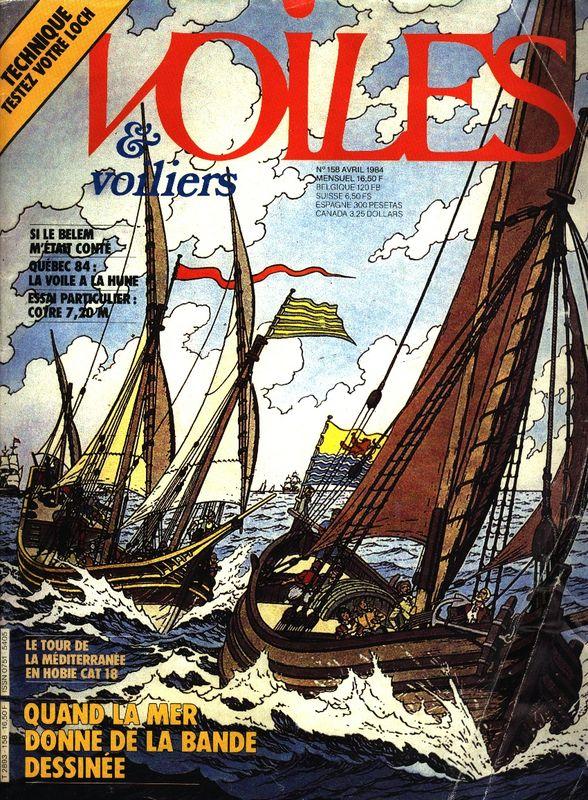 Revue Voiles et voiliers (1984)