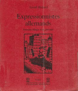 livre expressionniste allemand