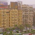 Crowded Cairo City