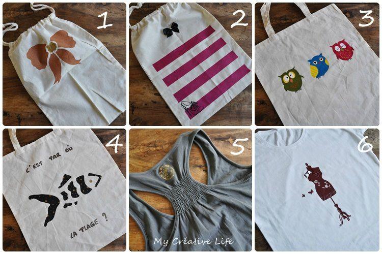 Peinture textile toutes les explications my cr ative life de mother - Enlever feutre sur tissu ...