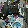 Compositions crayon et aquarelles (4)