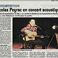 Concert de nicolas peyrac