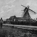 Langemark moulin détruit