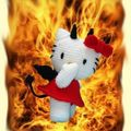 hello kitty flamme