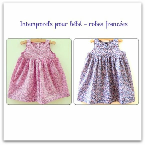 patron couture robe 6 ans