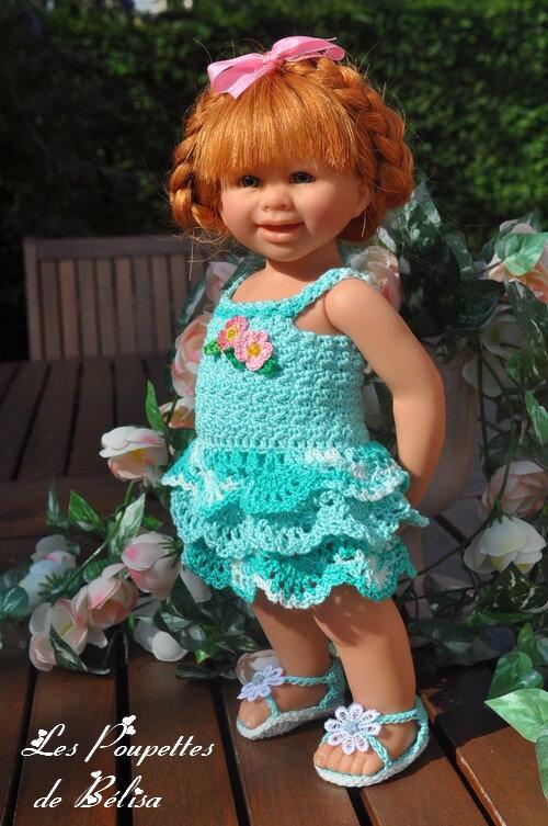 Une première robe pour Marjorie...