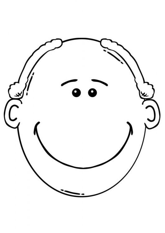 Bonhomme parties visage MS - Photo de Têtes/visages ...