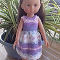 Tuto de janice helge en français de la petite robe fille modèle