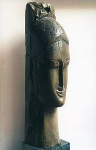 Modigliani_sculpture