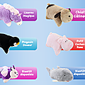 Peluche-oreiller : le pillow pet