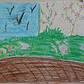 3ème - Croquis en pastels