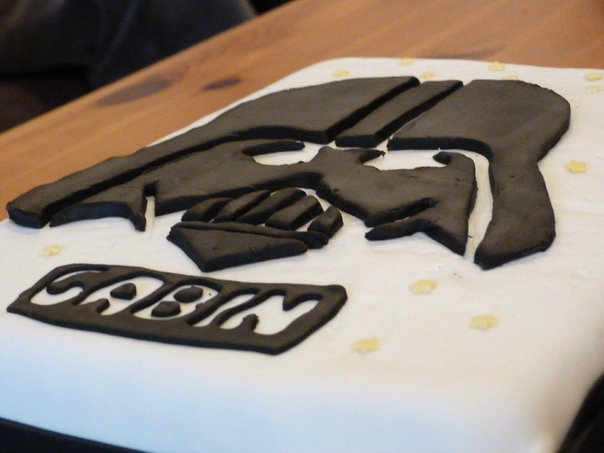 Gâteau Dark Vador