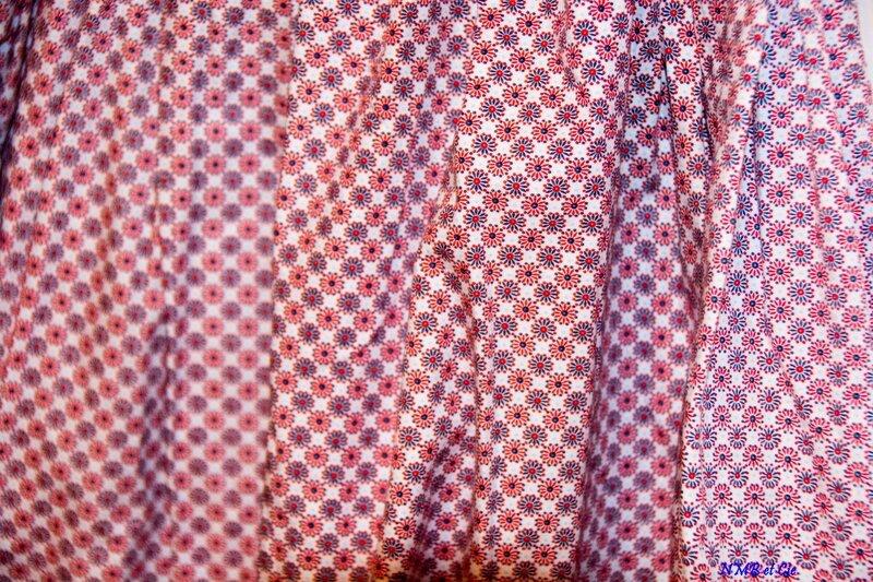 Diabolo tissu rouge