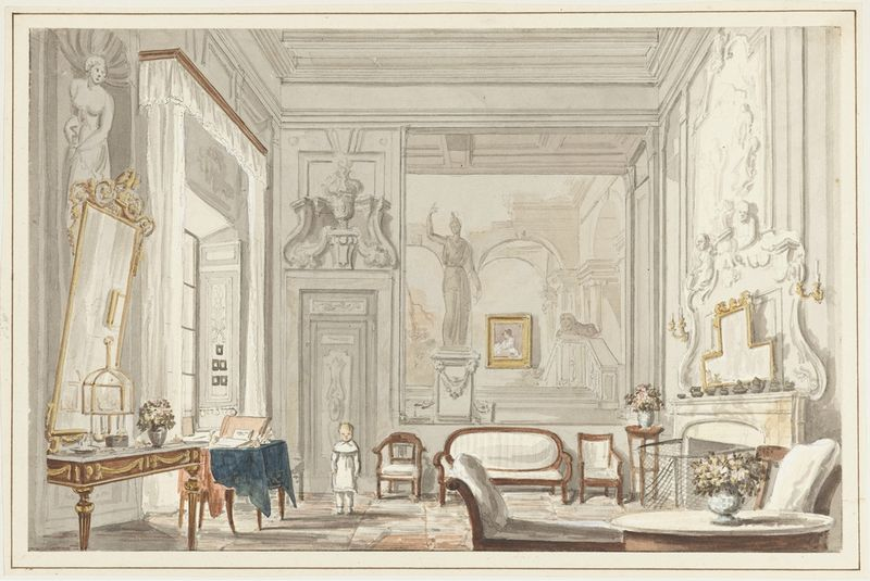 A Room in a Florentine Palace 1824