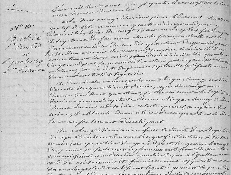 Buttié Pierre Edouard_mariage 20.10.1824_St André