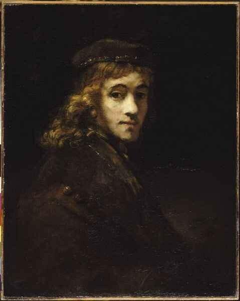 01 - Portrait de Titus, fils de l'artiste