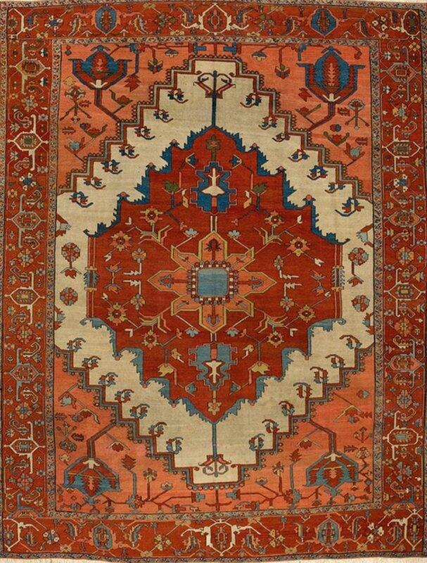 tapis-fait-main-laine-persan-motif-