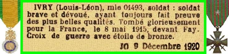 IVRY L L 1915 05