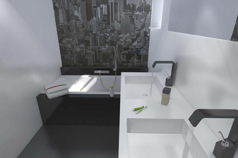 Salles de bains en images stinside architecture d 39 int rieur for Amenagement sdb 10m2