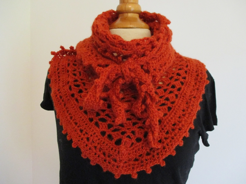 Cow-girl Crochet Orange (4)