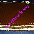 Gâteau choco-menthe