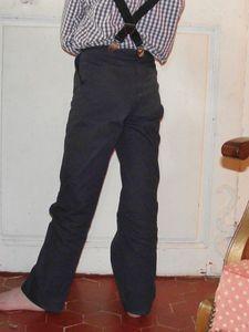 Pantalon 8ans Marine Burda 9781 2