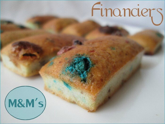 financiers M&M's - 1