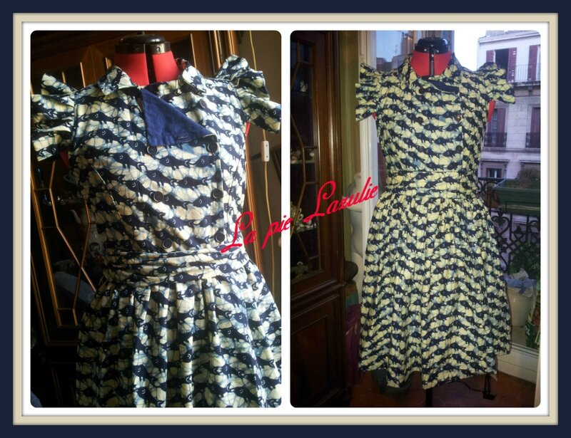 robe vintage 11b