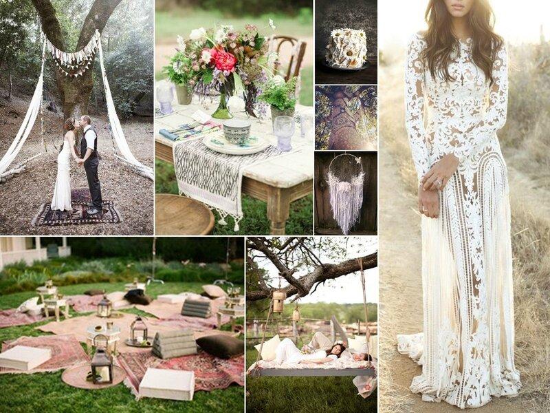 Mariage boho rose fantaisie wedding planner wedding d co - Theme de soiree tendance ...