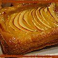 Tartelletes aux pommes à la fermière